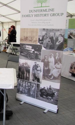 Roller Banner full on display